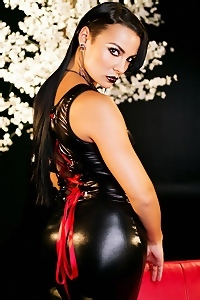 Krista Ayne Black Latex